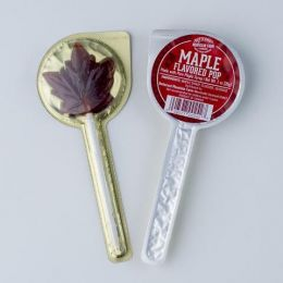 Maple Flavored Lollipop