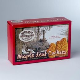 Maple Leaf Sandwich Cookies
