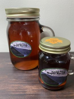 Vermont Maplesyrup in reusable mugs