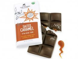 Lake Champlain Salted Caramel Dark Chocolate Bar