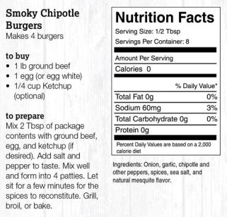 Smoky Chipotle Burger