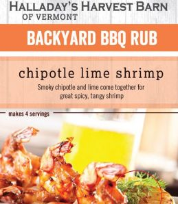Chipotle Lime Shrimp