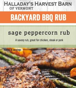Sage Peppercorn Rub