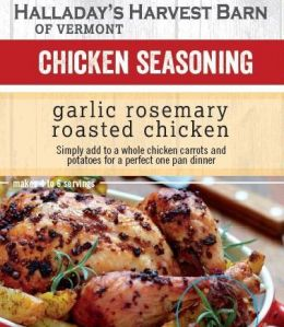 Garlic Rosemary Roasted Chicken