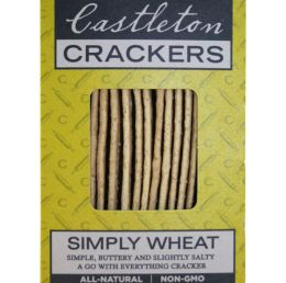 Castleton Crackers Simply Wheat Crackers
