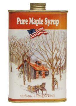 Ferguson Farm Vermont Maple Syrup Tin Pint
