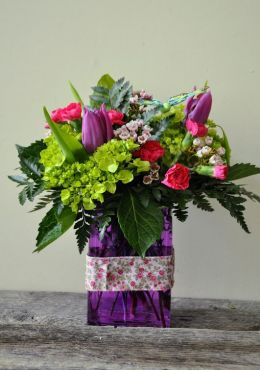 Blooms and butterflies Arrangement