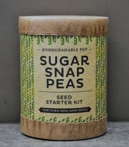Sugar Snap Peas - Biodegradable Seed Starter