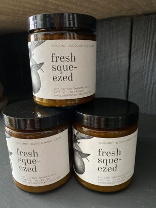 Fresh Sque-ezed Soy Candle