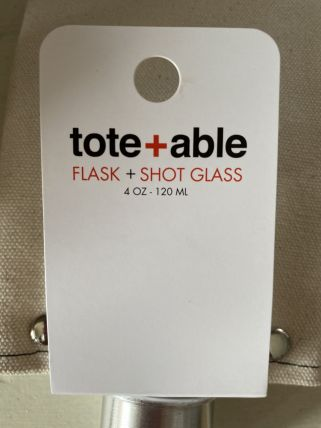Tote + Able Flask & Shotglass