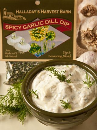 Spicy Garlic Dill