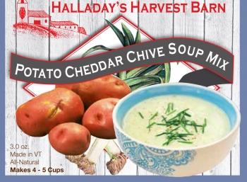 Potato Cheddar Chive | Soups | HALLADAYS