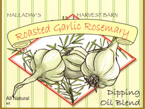 Roasted Garlic & Rosemary