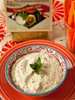 Thai Curry Dip