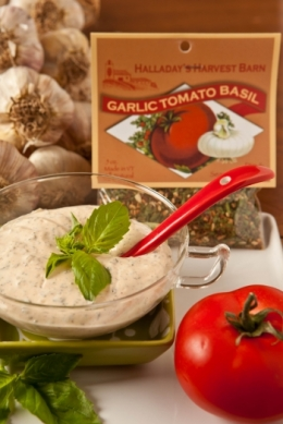 Garlic Tomato Basil