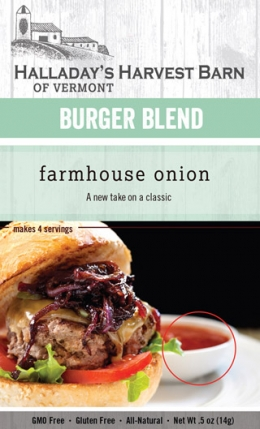 Farmhouse Onion Burger