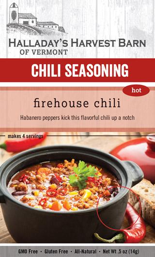 ... Harvest Barn CHF 896448001866 Firehouse Hot Chili (Chili Mixes, 12/cs