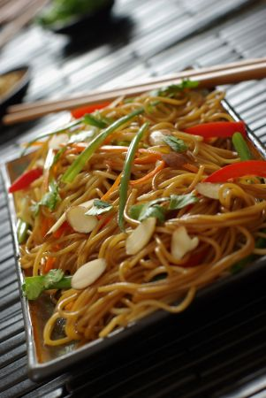 Vegetarian Curry Noodles