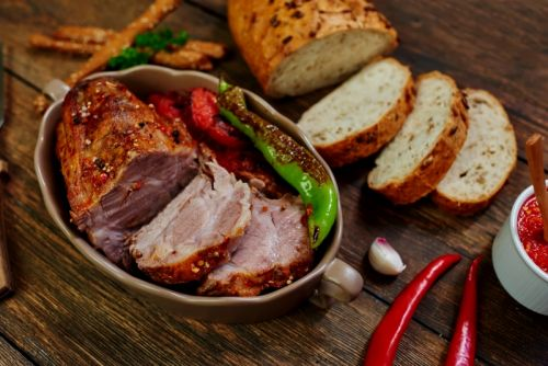 Chipotle Crusted Pork Tenderloin