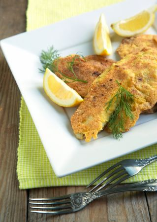 Cornmeal Crusted Fish