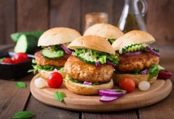 Turkey Burgers with Carrot & Zucchini