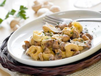 Tortellini with Mushrooms