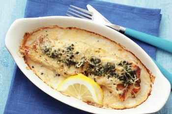 Filet of Sole Florentine
