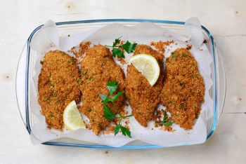 Lemon Parmesan Fish
