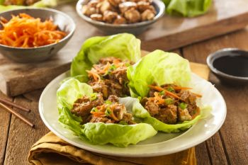 Turkey Lettuce Cups