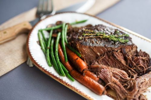 Balsamic Chuck Roast