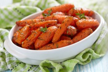 Fresh Carrots with Dilly Butter