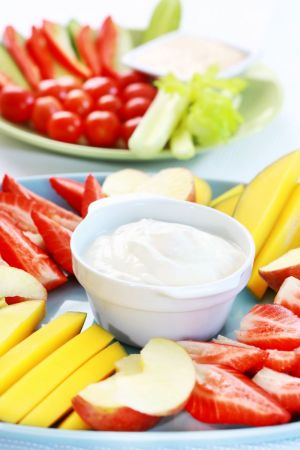 Orange Cream Fruit Dip