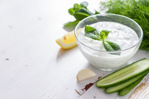 Greek Cucumber Yogurt Dip