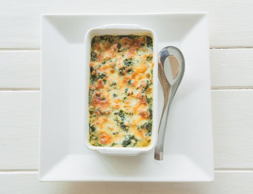 Spinach & Artichoke Dip with Sausage