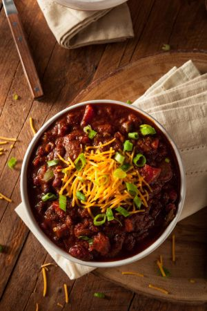 Blue Ribbon Maple Bacon Chili