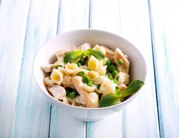 Light Chicken Pasta Salad