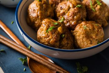Savory Turkey Meatballs