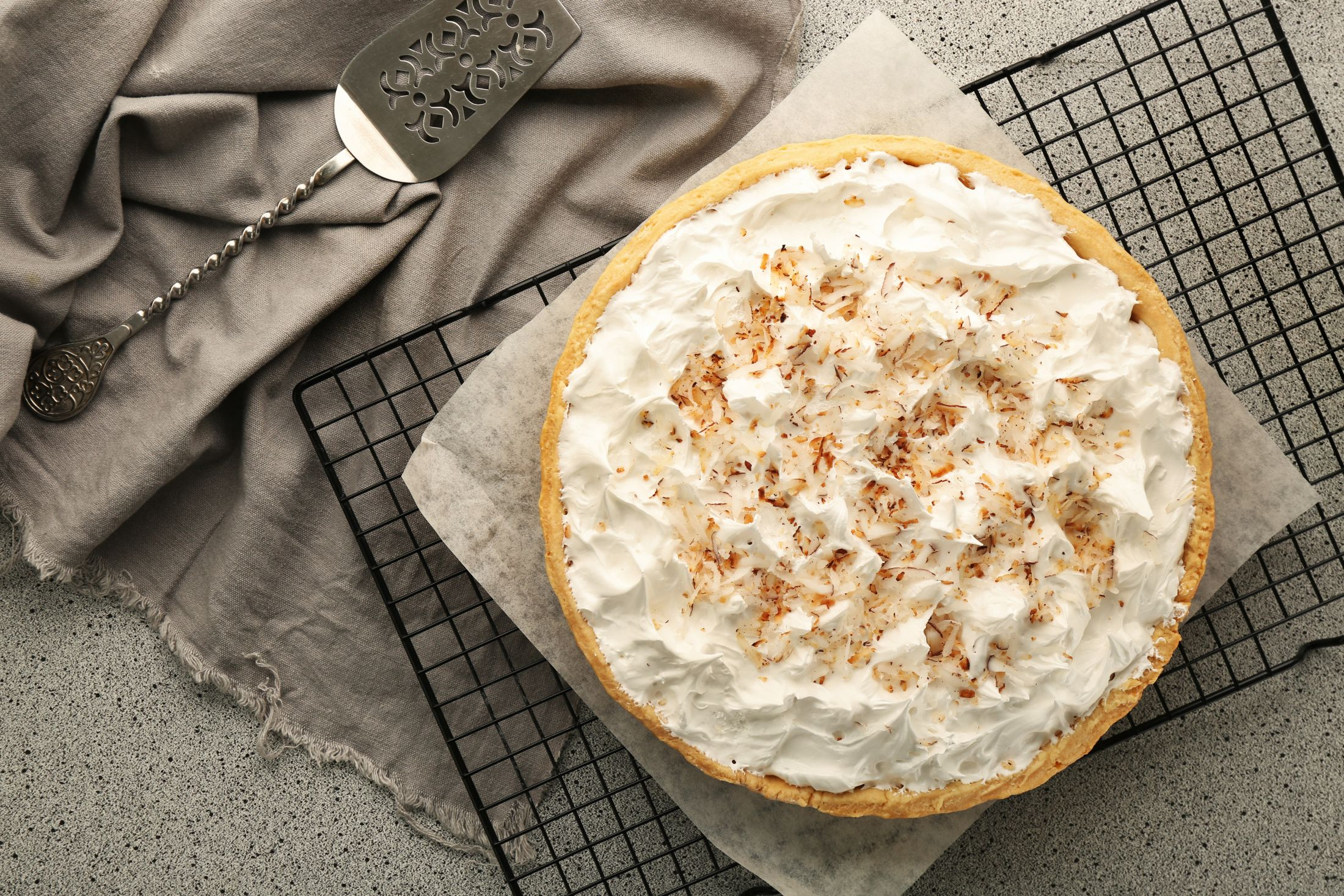 Coconut Pineapple Cream Pie